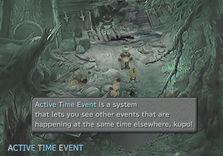 Evil Forest Active Time Event ATE