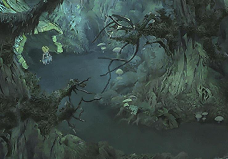 Evil Forest Entrance