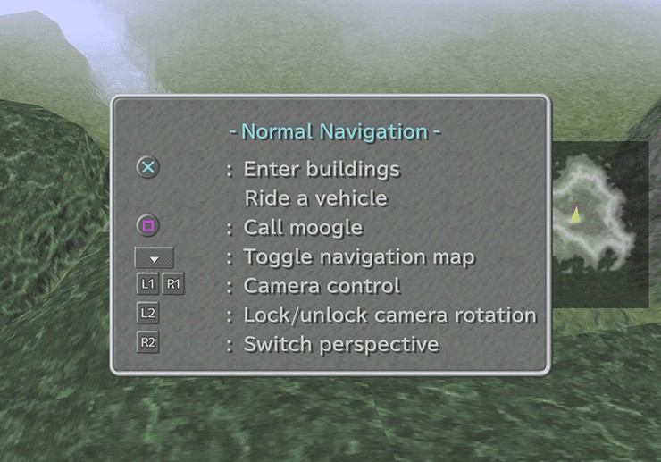 Mist Continent Navigation